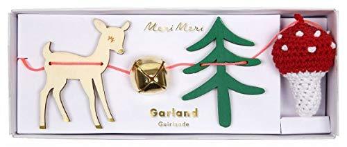 Meri Meri Weihnachtsgirlande Wald (Gold Tree Garland)