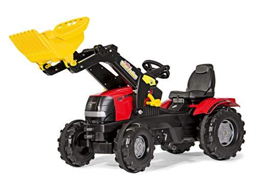 Rolly Toys Traktor / rollyFarmtrac Case Puma CVX 240 (inkl. rollyTrac Lader, für Kinder im  Alter von 3 – 8 Jahre, verstellbarer Sitz) 611065