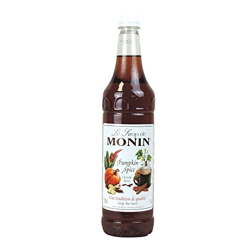 Monin - Pumpkin Spice Syrup - 1L Monin Pumpkin Spice