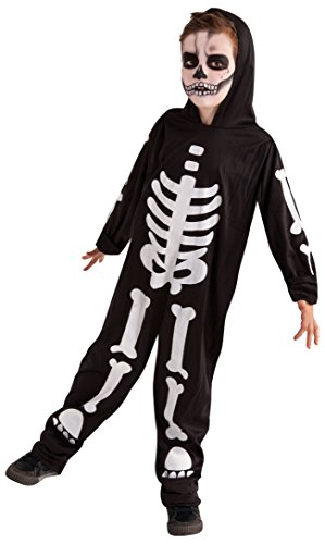Rubies Disfraz Infantil - Esqueleto Brilla en la Oscuridad 5-7 años