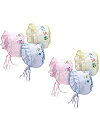 586c4e39ea0 PEUBUD Baby Boys and Baby Girl s Soft Cotton Printed Bonnets Caps Topi    Hats (Multicolour