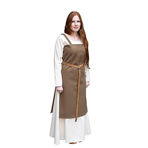 Burgschneider Mittelalter Wikingerkleid Jodis - Herbstgrün (Renaissance Erwachsene Lady Kostüme Grüne)