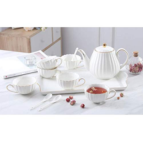 Keramik European Coffee Set English Water Set Nachmittags Tea Set
