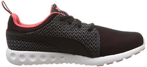 Puma Carson Runr Knit - Sneakers Basses - Femme Noir (Cayenne/Black)
