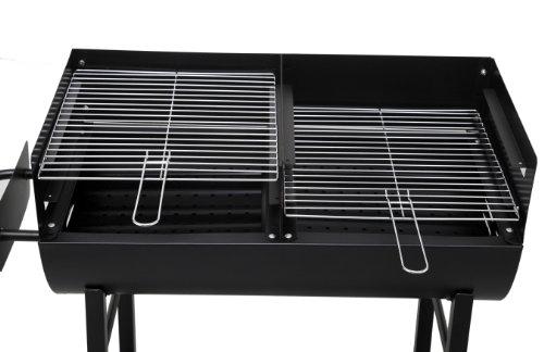 Tepro 1037″Detroit Barbecue a carbonella con trolley - 9