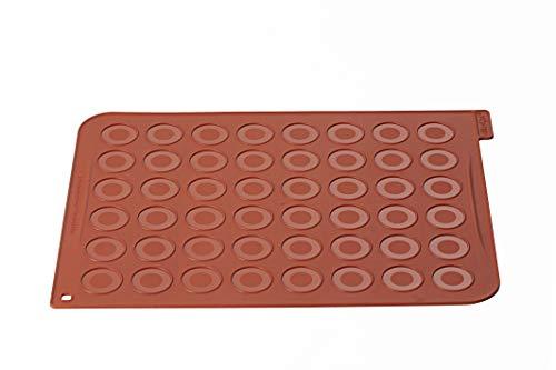 silikomart MAC01 Tapete Macarons, Fucsia width=