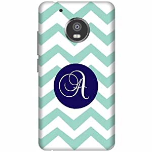 Printland Moto G5 Back Cover Printed Hard Plastic-Multicolor