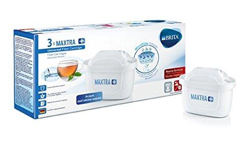 BRITA filtri MAXTRA+ Pack 3, Cartucce per caraffe filtranti, 3 filtri x...