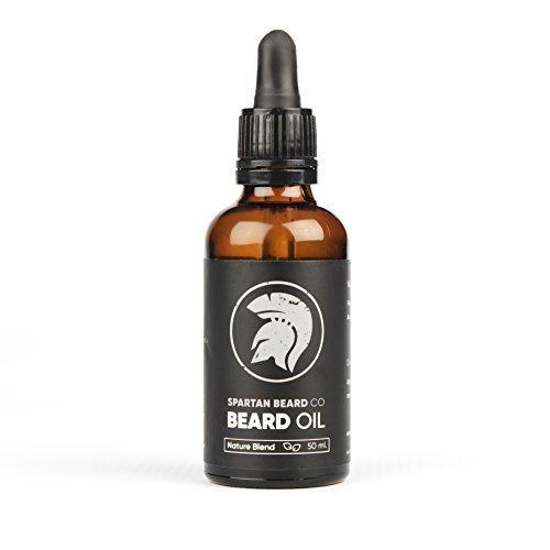 Spartan Beard Co. - Bartöl - Macht Ihren Bart stärker, gesünder und küssbarer als je zuvor - 100%-Geld-zurück-Garantie