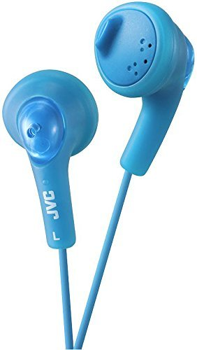 JVC Gumy blau im Ohr sitzend Ohrhörer Kopfhörer-Kopfhörer (im Ohr sitzend, Ohrhörer, 15-20.000Hz, 200mW, 108dB, 16Ohm) (Jvc Gumy Blau)