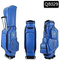 Kofull QB029 - Bolsa de transporte para palos de golf (impermeable), azul