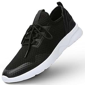 CAMEL CROWN Herren Laufschuhe Turnschuhe Herren Fitnessschuhe Mesh Running Sneaker Shoes Atmungsaktiv Ultraleicht stoßfest Sportschuhe Für Gym Wandern