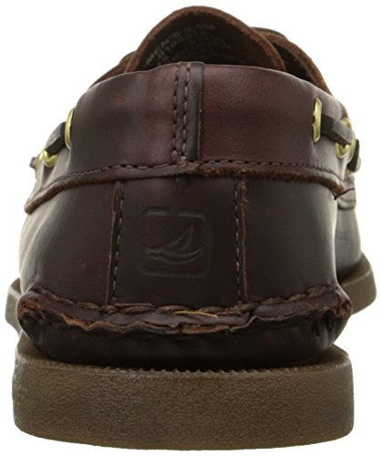Sperry A/O 2 Eye, Chaussures bateau homme Chocolat (Amaretto)