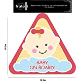 FRATELLI Baby On Board (Triangle-Girl Baby)