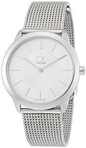 Calvin Klein Women's Quartz Watch with Silver XS Minimal K3M22126Analogue Quartz Stainless Steel