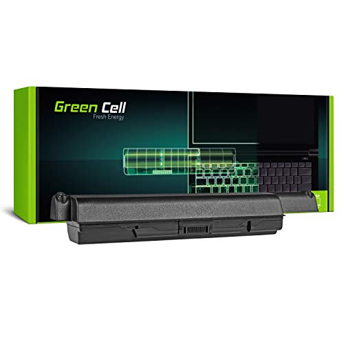 Green Cell Extended Serie PA3534U-1BRS Laptop Akku für Toshiba Satellite A200 A300 A500 L200 L300 L500 (12 Zellen 8800mAh 10.8V Schwarz) -