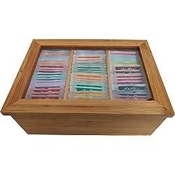 YOGI Tee Probierbox aus Bambus (Die 25 Top-Sorten á 3 Beutel = 75 Beutel) versandkostenfrei in D