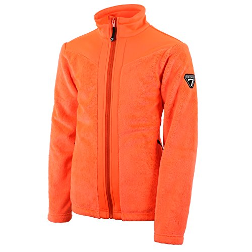 Degré7Peps unter Schicht Hybrid Damen M Magma (Orange Ski-jacke)