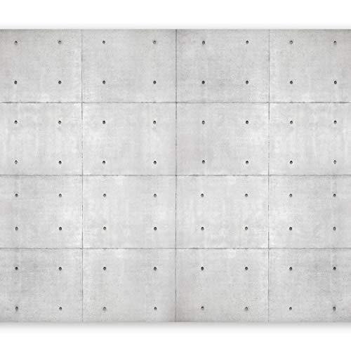 murando Papier peint intissé 400x280 cm Décoration Murale XXL Poster Tableaux Muraux Tapisserie Photo Trompe l'oeil noyaux béton Industrial 10110905-95