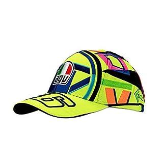 VR46 Unisex– Erwachsene VR Helmet Kids Cap Multicolor, Unisize