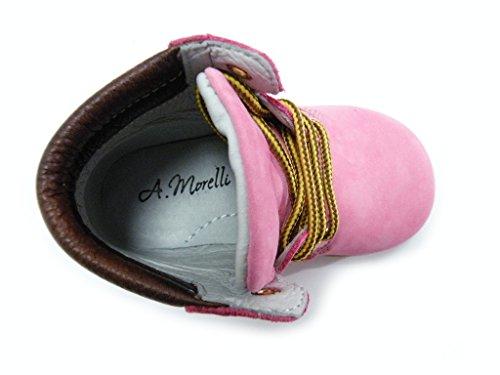 Rosa Stiefel Morelli Pink Lauflernschuhe Andrea Weiblich qAvWTAx