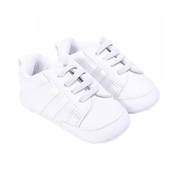 Nicholco Newborn Baby Boys Girls Soft Sole Infant Prewalker Toddler Sneaker Shoes