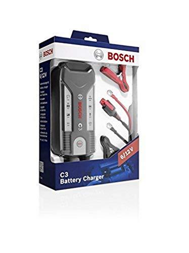 Oferta de Bosch 0 189 999 03M - Cargador automático de batería Bosch C3 para 6 -12 V / 3,8 A