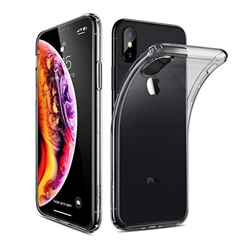 JIGE: huangmeng: Ultradünne stoßfeste, weiche TPU-Tasche der ESR Essential Zero-Serie für iPhone XS Max (Schwarz) (Color : Black)