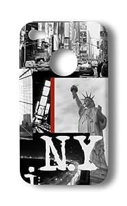 Akashi ALTCI472867CSH Nyc Statue Coque pour iPhone 4/4S