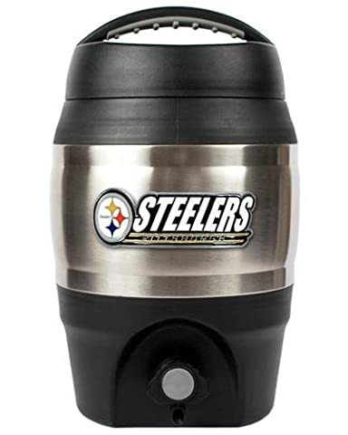 NFL 1 Gallon hayon Keg, Pittsburgh Steelers, taille unique