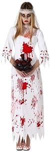 Atosa 14928 Disfraz novia sangriento adulto M-L, talla mujer