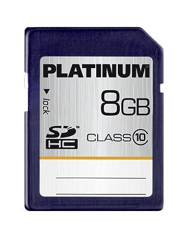 Platinum 8 GB Class 10 SDHC Speicherkarte
