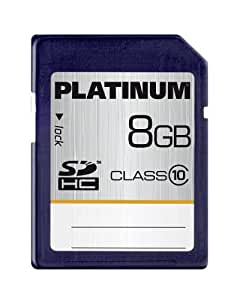 Platinum Carte mémoire SDHC Class 10 8 Go
