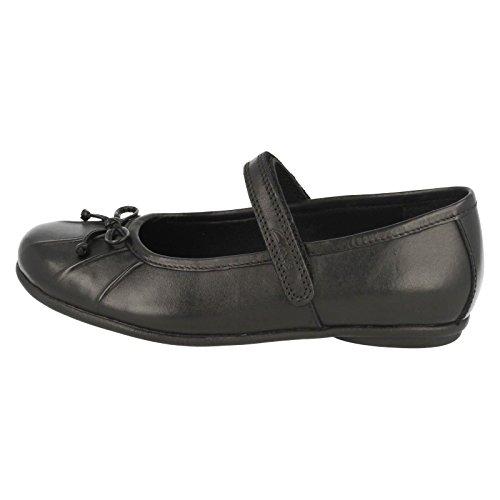 Clarks Tasha Ally Chaussures pour fille Noir - noir