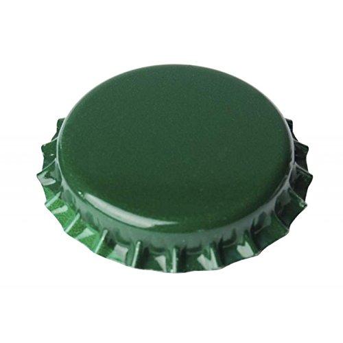 Chapas Verdes 26mm Botellas Normales