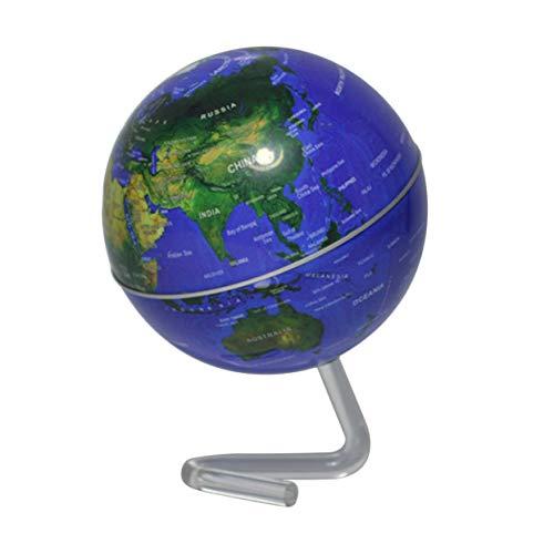 e Geographie Welt Globus Weltkarte Ornamente für Home Office Dekor Handwerk Geschenk für Freund Kinder - blau ()