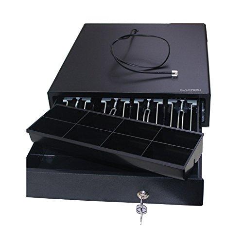 Owlotech ECD330C   Cajón portamonedas, color negro
