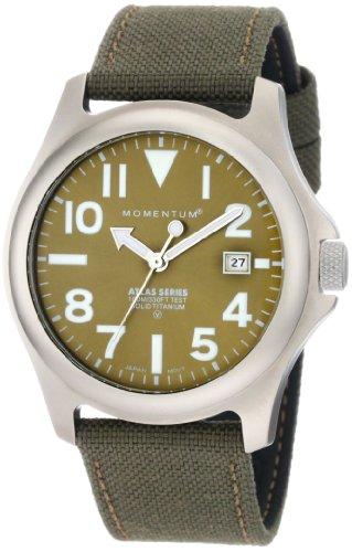 Momentum - 1M-SP00G6G - Montre Homme - Quartz Analogique - Bracelet nylon Vert