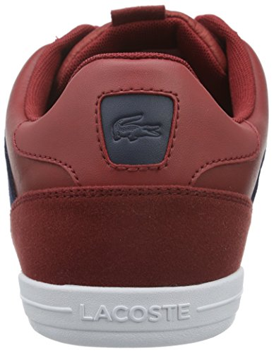 Lacoste Giron 316 1, Baskets Basses Homme Rouge - Rot (Dk Red 112)