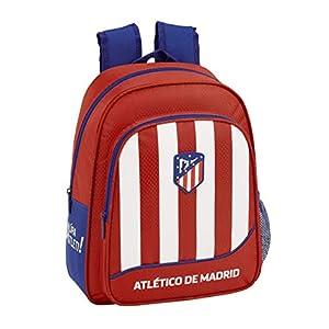 Atletico De Madrid 611845524 2018 Mochila escolar 33 cm, Rojo