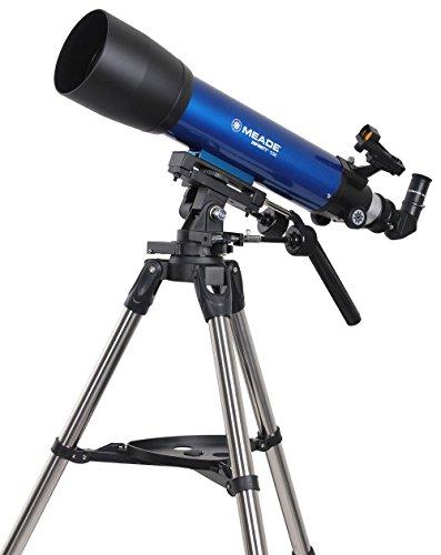 Meade Teleskop AC 102/600 Infinity AZ, Fernrohr für Natur und Astronomie mit 102mm Öffnung und 600mm Brennweite