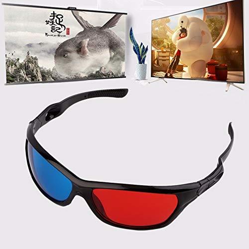 Universal 3D Brille Oculos Rot Blau Cyan 3D Glas Anaglyphen 3D Film Spiel DVD Vision/Kino Großhandel