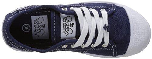 Le Temps des Cerises Basic 02, Baskets Basses Fille Bleu (Indigo)