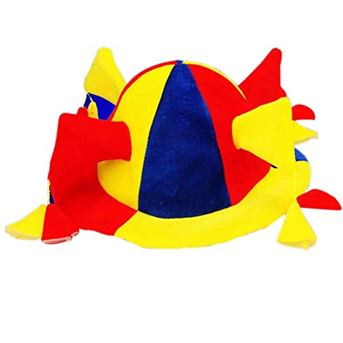 Clown Zylinderhut Halloween-Hut Clown Hut Clown Cap-Partei-Kostüm Karneval Cap