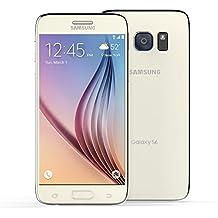Teamyy Samsung Galaxy S6 EU reacondicionado G920V/P smartphone 16MP 5.1inch pantalla táctil 32G Negro/Blanco/Oro
