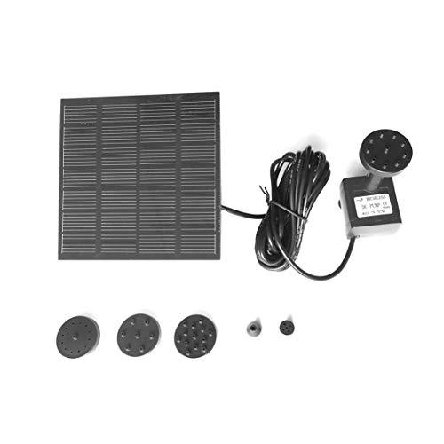 1,2 Watt Solar Panel Power Wasserpumpe Kit für Pool Gartenteich Vogelbad Brunnen Tauchbewässerungspumpe Mit Schwimmring