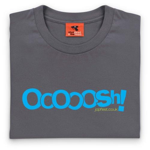 Japfest Oooosh! T-Shirt, Herren Anthrazit