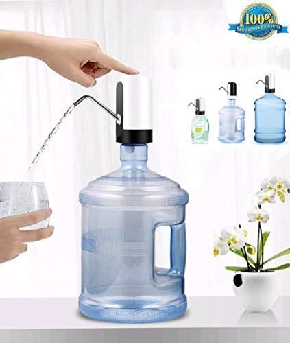 JSG Dispensador De Agua, Bomba Electrica, Automatico Carga USB, Dispositivo Universal (Beba Agua Comodamente)