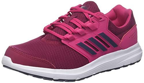 adidas Damen Galaxy 4 Laufschuhe, Pink (Real Magenta/Trace Blue F17/Mystery Ruby F17), 38 2/3 EU