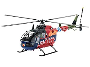 Revell BO 105 35th Anniversary of Roth Fly-Out Version 1:32 Assembly kit Rotorcraft - maquetas de aeronaves (1:32, Assembly kit, Rotorcraft, Passenger aircraft, De plástico, Multicolor)